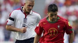 Ronaldo Marah Dibandingkan dengan Beckham