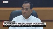 VIDEO: Wacana Maskapai Penerbangan Asing Masuk Indonesa