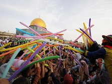 AS-Israel Buat Peta Damai Timteng, Palestina: Konspirasi