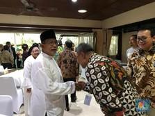 Open House, Menteri Darmin Sajikan Mie Kangkung & Toge Goreng