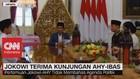 VIDEO: Jokowi Terima Kunjungan AHY-Ibas