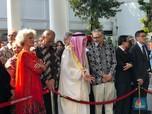 Menteri, Pejabat Negara & Dubes Antre di Open House Jokowi