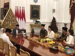 AHY Silaturahmi Lebaran ke Jokowi, Bahas Apa?