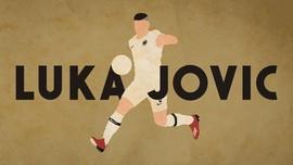 INFOGRAFIS: Luka Jovic Pemain Termahal Keenam Madrid