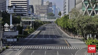 Jakarta Lengang, Polisi Ingatkan Risiko Berfoto di Jalan Raya