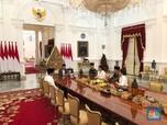 Ditemani Iriana & Kaesang, Jokowi Bertemu Keluarga SBY