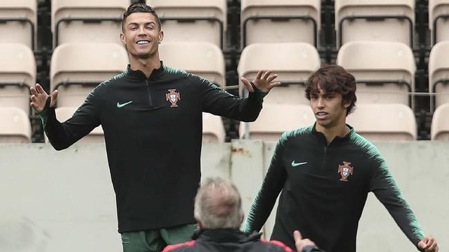 Timnas Portugal juga mempunyai talenta muda yang dilirik sejumlah klub elite Eropa, Joao Felix. (AP Photo/Luis Vieira)