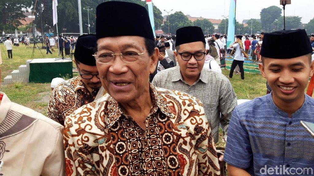 Sultan Berharap Jokowi dan Prabowo Segera Rekonsiliasi