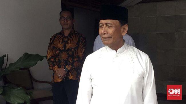Polda: Wiranto Aman, Kapolsek Kena Penusukan di Pandeglang