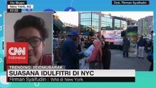 VIDEO: Suasana Idulfitri di NYC