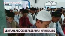 VIDEO: Jemaah Aboge Lebaran Hari Kamis