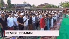 VIDEO: 341 Napi Dapat Remisi Lebaran, 19 Napi Bebas