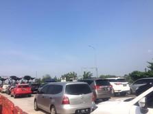 Lebaran Kedua, Arus Balik Macet 5 KM di Tol Palimanan