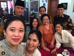 Akrabnya Lebaran di Rumah Megawati, Ada Wefie Jokowi & AHY
