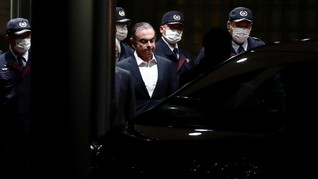 Melarikan Diri dari Jepang, Carlos Ghosn Jadi Buron Interpol