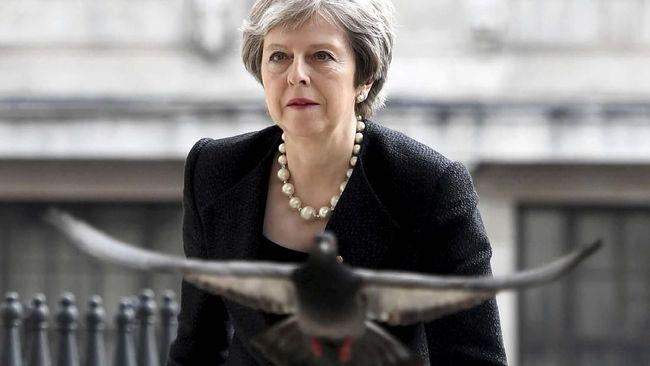 Iran Sandera Tanker, PM Theresa May Gelar Rapat Darurat