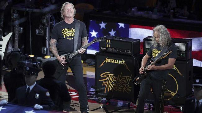 Hetfield Masuk Rehab, Metallica Tunda Tur Australia-Selandia