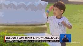 VIDEO: Momen Saat Jokowi & Jan Ethes Sapa Warga Jogja