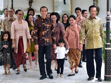 Jokowi & Jan Ethes Silaturahmi ke Keraton Yogyakarta
