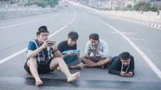 VIDEO: Bergaya di Jalanan Jakarta Saat Lebaran