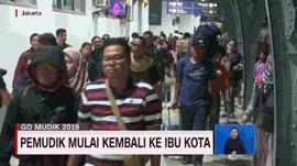 VIDEO: Pemudik Mulai Kembali ke Ibukota