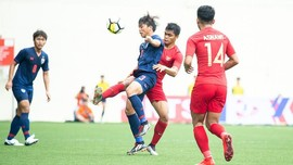 Babak I: Timnas Indonesia U-23 0-0 Yordania U-23