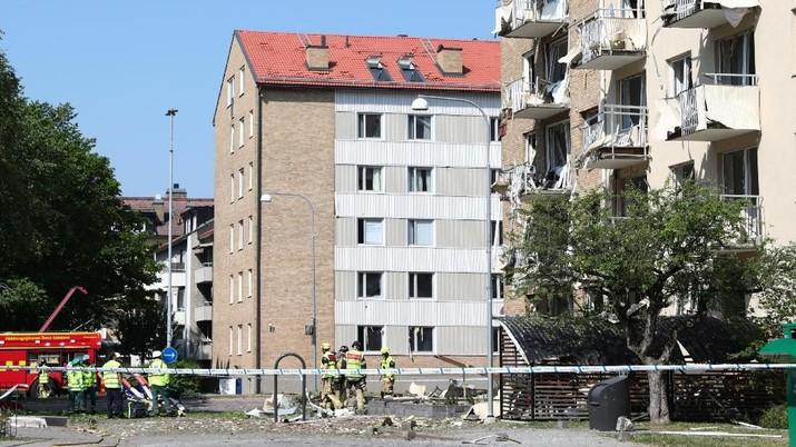 Ada Ledakan Bangunan di Swedia, 19 Orang Terluka