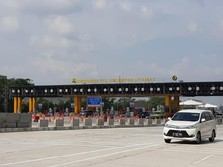 H+2 Lebaran, Gerbang Tol Cikampek Utama Ramai Lancar