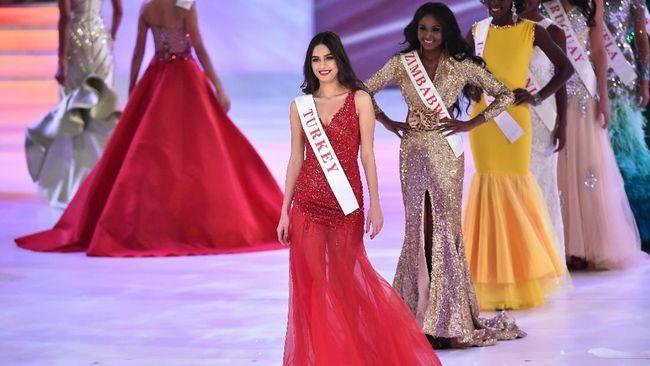 Amine Gulse, Miss Turki 2014 yang Jadi Istri Mesut Oezil