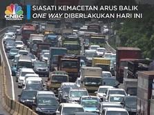 Siasati Kemacetan Arus Balik, One Way Diberlakukan Hari Ini
