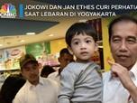 Seru! Lebaran di Jogja, Jokowi & Jan Ethes Naik Andong