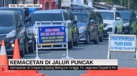 VIDEO: Kemacetan di Jalur Puncak