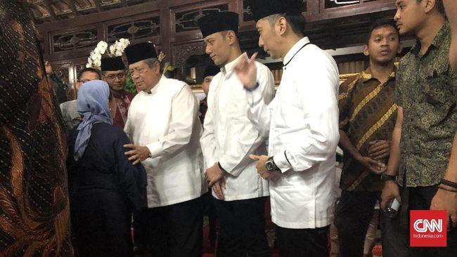 Jajaran Menteri Era SBY Hadiri Tahlilan 40 Hari Ani Yudhoyono