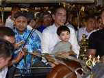 Lebaran Ketiga, Jokowi Bertemu Sultan Hamengku Buwono X