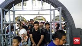 23 Ribu Pemudik Bakal Tiba di Stasiun Senen Hari Ini