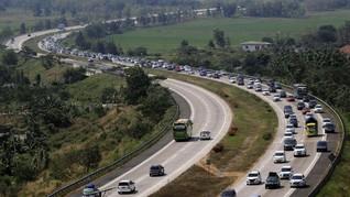Sistem Satu Arah Tol Cikampek Menuju Jakarta Diperpanjang