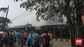 Korsleting, Minimarket Stasiun Pasar Senen Sempat Terbakar