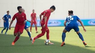 Timnas Indonesia U-23 Tahan Imbang Arab Saudi 1-1