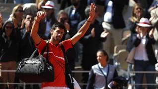 Gagal ke Final Prancis Terbuka, Djokovic Ribut dengan Wasit