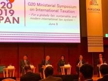 Di Pertemuan G20, Sri Mulyani Bahas Pajak Google Cs
