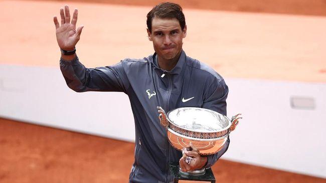 Rafael Nadal Hattrick Juara Prancis Terbuka