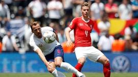 Kalahkan Swiss, Inggris Peringkat Ketiga UEFA Nations League