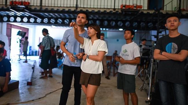 Generasi muda sineas di Myanmar kini mencoba membangkitkan kembali industri perfilman di negara itu, yang terpuruk sejak 1962. (Photo by Ye Aung THU / AFP)
