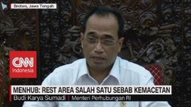 VIDEO: Menhub: Rest Area Salah Satu Sebab Kemacetan