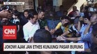 VIDEO: Jokowi Ajak Jan Ethes Kunjungi Pasar Burung