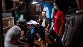 Di masa lalu, industri layar lebar di Myanmar tidak kalah dari negara-negara lain di kawasan Asia Tenggara. Setelah itu mereka terseok-seok dengan film berbiaya rendah. (Photo by Sai Aung MAIN / AFP)