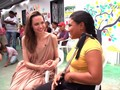 VIDEO: Angelina Jolie Kunjungi Pengungsi Venezuela