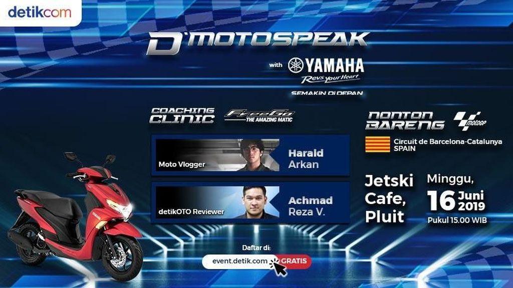Detikcom Bedah Yamaha FreeGo Sambil Nobar MotoGP!