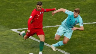 4 Aksi 'Agen' Ronaldo
