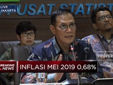BPS : Inflasi Mei 2019 Capai 0,68%